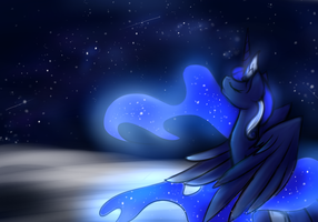Galaxy Luna by KairaAnix