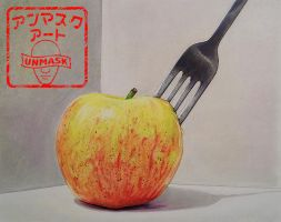 Apple Still Life by UnmaskArt