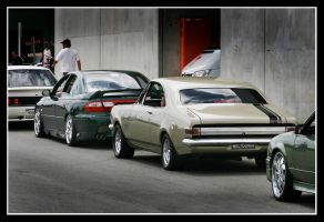 Holden old and new by RaynePhotography