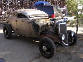 Chopped Bare Metal Coupe by Jetster1