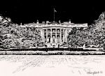 The White House by ladyjart