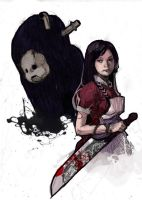 more Alice Madness Returns by Redrenny