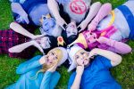 Adventure Time Cosplay Ooo and Aaa by twinings-lennon