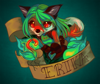 Tattoo Badge - Erika by starbandits