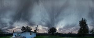 Pano of the backyard by MattGranzPhotography