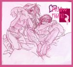 Pillow Fight, CD Cover by AmberPalette