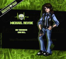 MH - Michael Revok by HotaruThodt