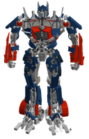 Lego Optimus Prime by archus7