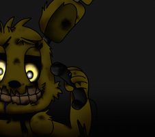 We ARE Still here ... [FNAF3] by ClemDouDou