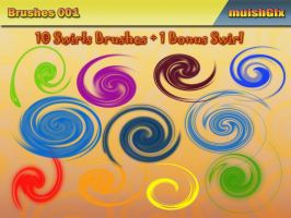 Swirls Brushes by muish