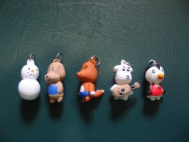 Animal Crossing Charms by tiffanybell