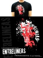 Entrelineas T-shirt by Chacho