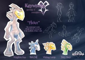 KH: Keywraiths by PhoenixTrooper