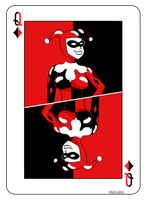 Harley Quinn Card by Maruska91