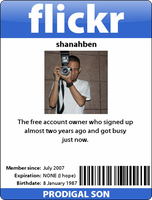 Flickr Badge by shanahben