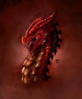 Red Dragon by TheRisingSoul