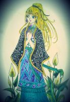 Lonely Princess: Very old drawing by eirol87