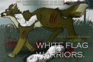White Flag Warriors by AElOU