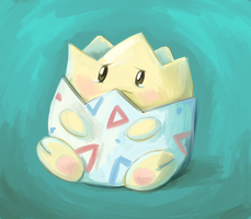 Pokestream- Togepi by pettyartist