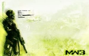 Ghost Return - Mw3 Wallpaper by MuuseDesign