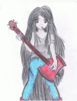 Marceline the Vampire Queen by Fairybunny27