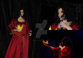 Mother Gothel On Stage by CalamityJade