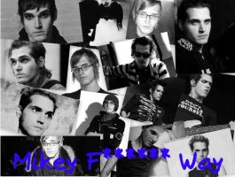 Mikey Way Background by MsRainbowCatastrophe