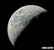 Crescent Moon by ChrisAstro102