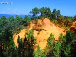 Roussillon, France by Tanaaelle