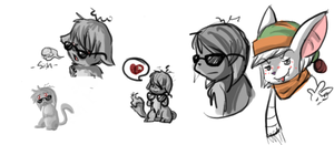 Neopets Doodles by Gibblywinks
