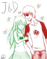Jade and Dave by firemagicsinger