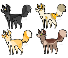 Canine Adopts 6 by LobsterAdopts