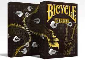 Bicycle Sky Descender PlayingCards by istarlove