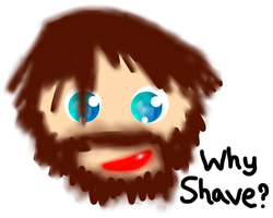 Why Shave by munchii3
