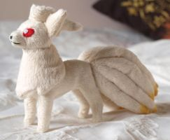 Ninetales mini plush by PlushOwl