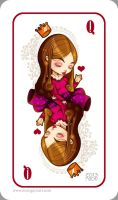 Heart Card by RocioGarciaART
