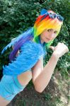 MLP RAINBOWDASH SUMMER VERSION by MarmeladePro