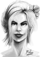 Female face by micka9