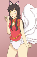 Cheap month - Ahri by PieceofSoap