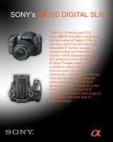 sony a 100 by whitetrash09