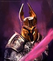 Knight speedpainting +  time lapse video by MatteoAscente