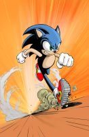 Sonic the Hedgehog colors by KenHunt