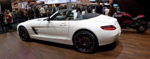 Mercedes SLS AMG Roadster by PrimalOrB