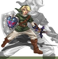 the legendary hero of hyrule 2 by Shayeragal