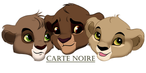 Three little happiness by CarteNoire