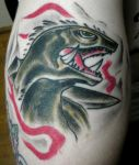 Gamera Tattoo by killowlsdead