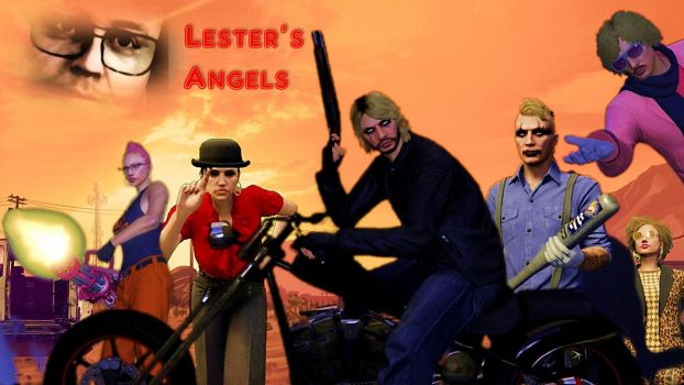 Lester's Angels by Doommetal101