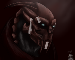 Haedes bust by coolhaloboy360