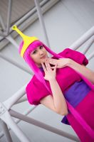 Candy Princess. Bubblegum cosplay. by Giuzzys