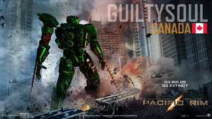 GuiltySoul - Canadian Jaeger POSTER by Die-Laughing